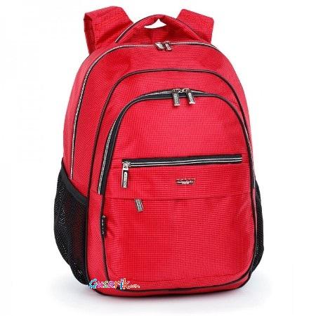 184da3c22532 Рюкзаки школьные и для поездок Dolly - Рюкзак школьный, однотонный красный  Модель 522 Dolly