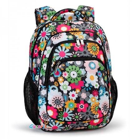 8fcaac0dea05 Рюкзаки школьные и для поездок Dolly - Яркий интересный рюкзачок для  девочки с цветами Модель 531