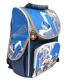 0492fe4bc857 Ранец ортопедический Мото байк 987846 Smile - три внешних кармана,  светоотражающие элементы. качественные школьные ...