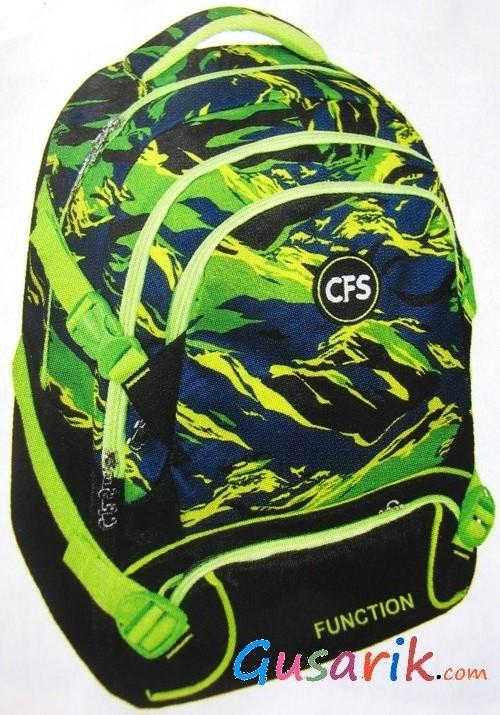 d56ddc18fb4f Рюкзаки для подростков Cool for School - Шкільні рюкзаки cfs для хлопця  зелений та чорний CF86266
