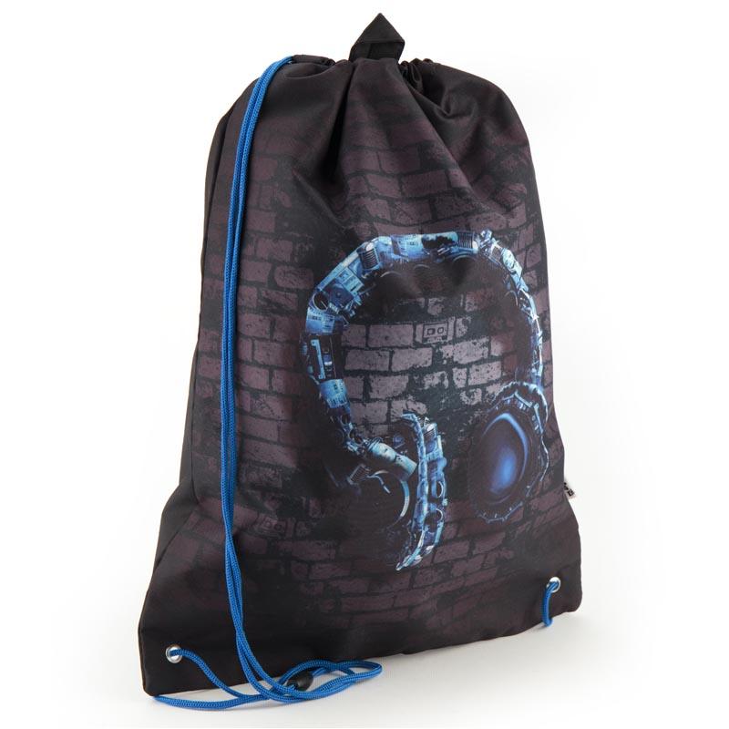3e24a08cb9fc ... Черный подростковый рюкзак мешок для тренировок Kite Junior K18-600L-7  Kite -