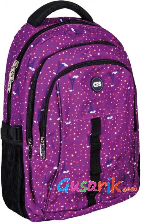 c16970315bfc Рюкзаки для подростков Cool for School - Фиолетовый легкий рюкзак для  девушки подростка CF86304 Cool For
